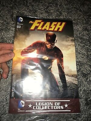 Brand new exclusive The FLASH #123 DC legion of collectors comic variant cover