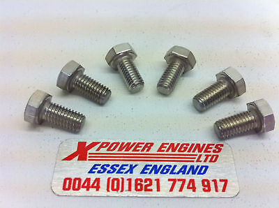 Cosworth Turbo Core Ring Bolts Stainless T3 T34 T38 T4