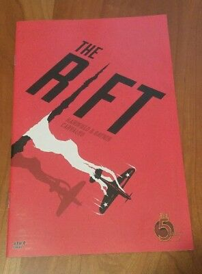 The Rift #1 RED 5 COMICS VERY Low Print Run of 2,391 Optioned NM