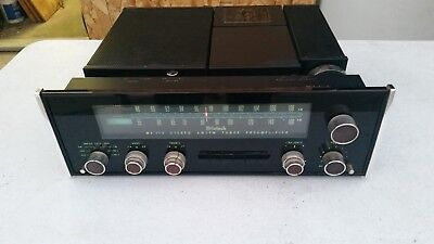McIntosh MX113 VINTAGE PRE-AMPLIFIER/TUNER VERY NICE CONDITION Missing Faceplate