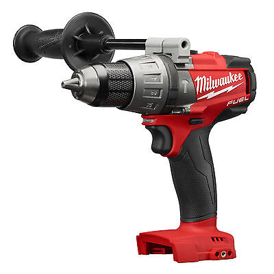 """New Milwaukee M18 Brushless FUEL 1/2"""" Hammer Drill Driver With Clip  # 2704-20"""