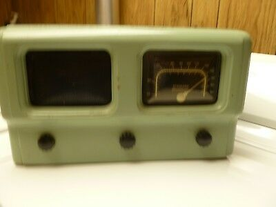 Crosley Us Navy Wwii Era Bureau Of Ships Am Radio Good Working Condition
