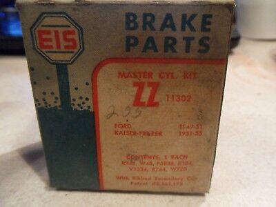 Eis Master Cylinder Kit Zz Ford 1949-58 Kaiser 1951 See Pictures For Application