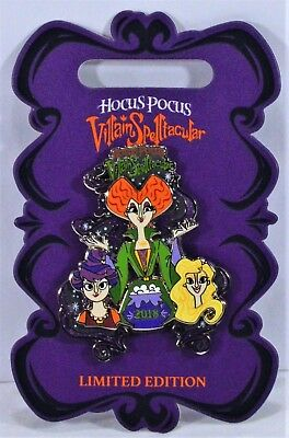Disney 2018 Mickey Not So Scary Halloween Party Hocus Pocus 3-D Pin LE 5000 NEW