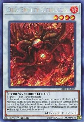 Old Entity Cthugua (SHVA-EN016) - Secret Rare - Near Mint - 1st Edition