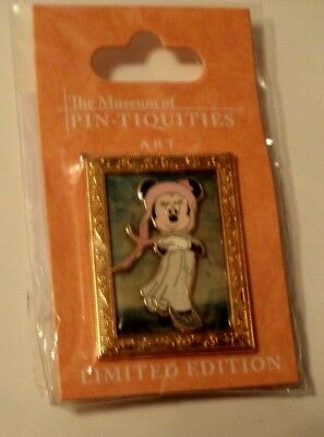 WDW - The Museum of Pin-tiquities  Disney Pin Celebration 2009 - Minnie in Pink