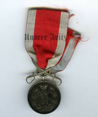 Schaumburg-Lippe Military Service Medal 1870-71 with Crossed Sabers