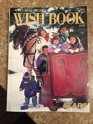 Sears Christmas Catalog 1991 WISH BOOK Vintage Catalog