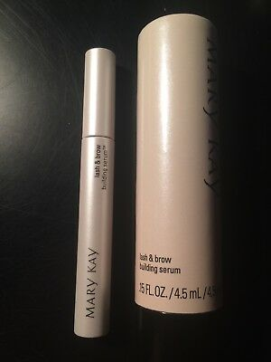 MARY KAY Lash & And Brow Building Serum .15oz NEW IN BOX