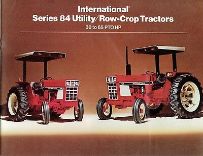 International Harvester 84 Series Literature