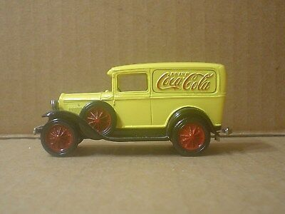Coca Cola Die cast 1931 Ford Model 'A' Truck Embossed Logo Nostalgic Miniatures