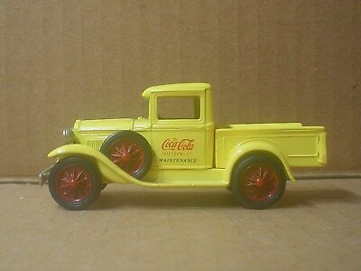 Coca Cola Die cast 1931 Ford Model 'A' Pick-up Truck ~ Nostalgic Miniatures