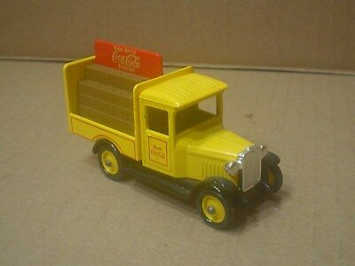 Coca Cola Die cast Days Gone by Delivery Truck ~ Lledo ~ England