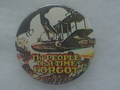 The People That Time Forgot Pin Button ~ Edgar Rice Burroughs ~ Doug McClure