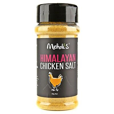 Himalayan Chicken Salt 90G No Added Msg Gluten Free Vegetarian Seasoning