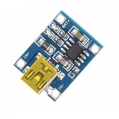 2/5/10PCS TP4056 5V Mini USB 1A Charger Module Lithium Battery Charging Board