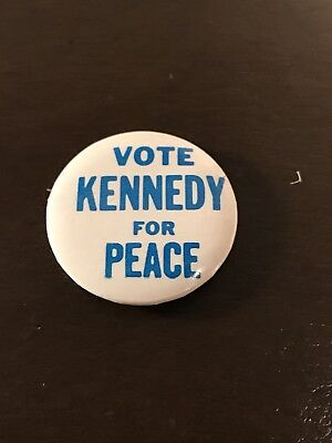 RFK 1968 Presidential- Vote Kennedy For Peace