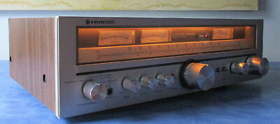 One Owner Kenwood KR-5010 Stereo Receiver 45 WPC Professionally Serviced NICE!