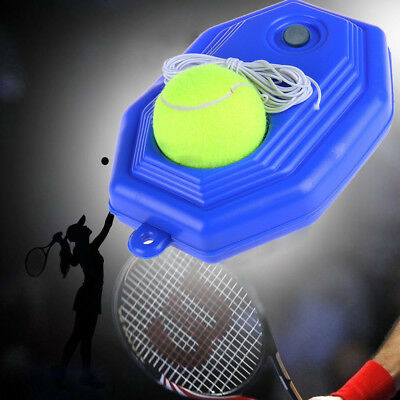 Tennis Singles Training Practice Tool Exercise Self-study Rebound Ball Baseboard