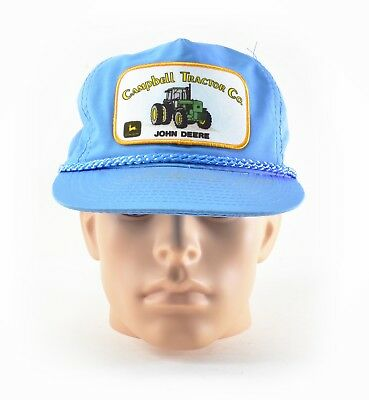 Vintage John Deere Campbell Tractor Co Trucker Farm Hat
