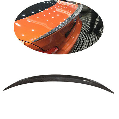 Fits BMW 1 Series E82 1M Coupe 11-17 Rear Trunk Spoiler Lid Wing Carbon Fiber
