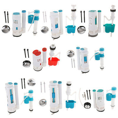 Bathroom WC Toilet Replacement Parts Fill Valve Flush Valve for Most Toilets