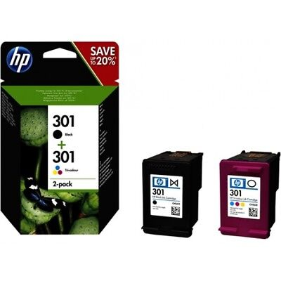 Pack Tinta HP 301 Negro 301 Tricolor