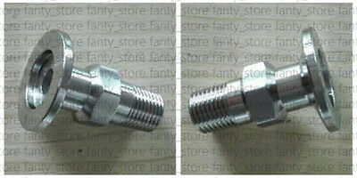 """1pcs Adapter KF50 Flange to 1"""" Male PT, SS 304, vacuum fitting #A92X LW"""
