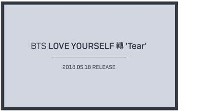 <BTS>bangtanboys 3rd Album [LOVE YOURSELF 轉 'Tear' ] Random Ver (first edit)
