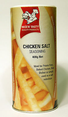 NICE N' TASTY Chicken Salt Seasoning 400g, Vegetarian, Halal