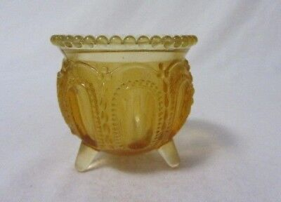 Boyd Glass Gypsy Pot Golden Delight Amber Toothpick Holder B In Diamond