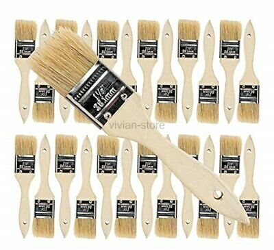 Chip Paint Brushes for Paint, Stains,Varnishes,Glues, Gesso, Arts & Crafts.