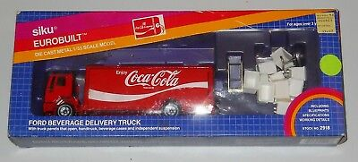 Coca-Cola Siku Eurobuilt 1980's Ford Delivery Truck MINT in Fair Box