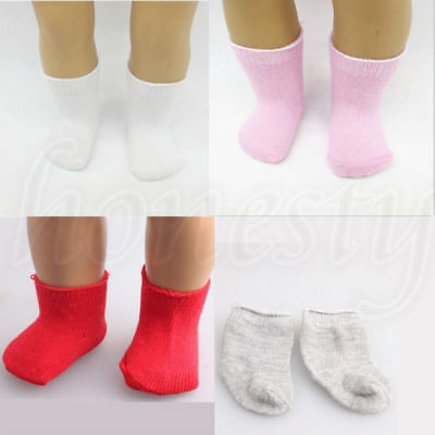 Dolls Socks Stockings for 18inch American Girl My Life Doll Clothing Accessories