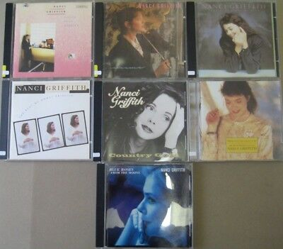 7 Nanci Griffith CD's - Country / Folk Artist