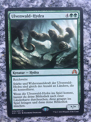 "Magic the Gathering ""Ulvenwald-Hydra"" Schatten über Innistrad deutsch"