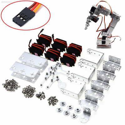 7739 Kit DIY Programmable Robotic Arm 4DOF USB Acrylic Summary Mechanical Arm
