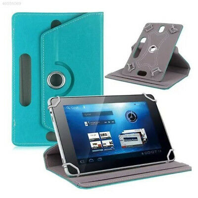 """DE57 Universal 360° Folio Leather Case Cover For Android Tablet PC 7"""" 8"""" 10"""""""