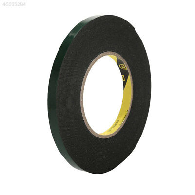 75A3 Car Auto Trim Double Sided Adhesive Sponge Tape Green 10m High Quality
