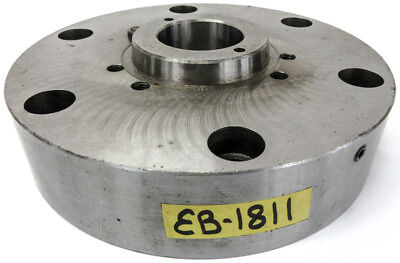 """10-1//4"""" Chuck Adapter Plate L-2 Spindle Mount Taper 1-1//4"""" Thickness POLAND"""