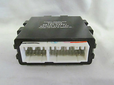 RS3200 THEFT SECURITY WARNING CONTROL MODULE 08190-33851 FOR TOYOTA