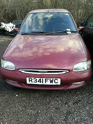 BREAKING GHIA FORD ESCORT MK6 5DR PEPPER RED 1.6 ZETEC SPARES side repeater