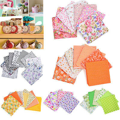 Mixed 100% Cotton Fabric Material Joblot Value Bundle Scraps Offcuts Quilting