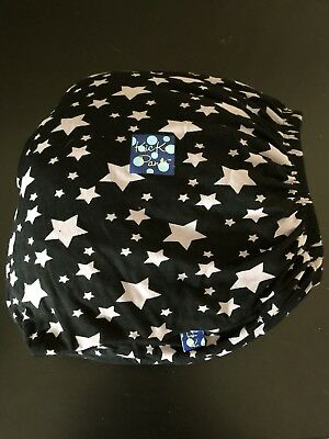 KicKee Pants Baby Midnight Stars Fitted Crib Sheet Black Gray Paint Can 28x52