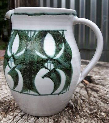 Superb Gill Bent Aldermaston Pottery Jug
