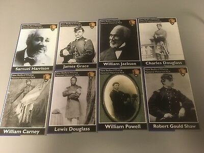 National Park Service trading cards New Bedford Whaling NHP MINT