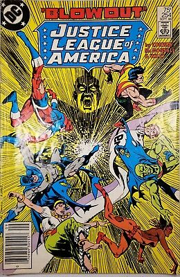 JUSTICE LEAGUE OF AMERICA #254 SEP 1986 DC Comics by Conway, McDonnell & Wray