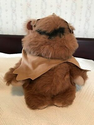 Vintage Wicket The Ewok 1983 Star Wars Plush Lucasfilm Mint condition!