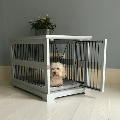 Lords & Labradors Grey Slide-Aside Dog Crate