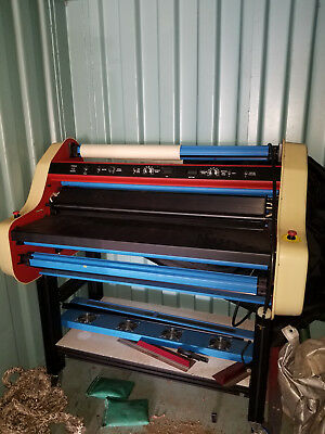 Deluxe Laminator Document Binder $200 Retail! Banner American PM2000 Tandem